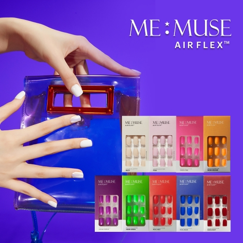 [MEMUSE] AIR FLEX SELF NAIL VIVID COLOR