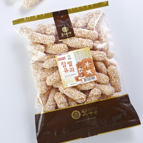 [Hojeongga] Hojeongga Glutinous Rice Yugwa (Deep-fried Sweet Rice Cake) (500g)