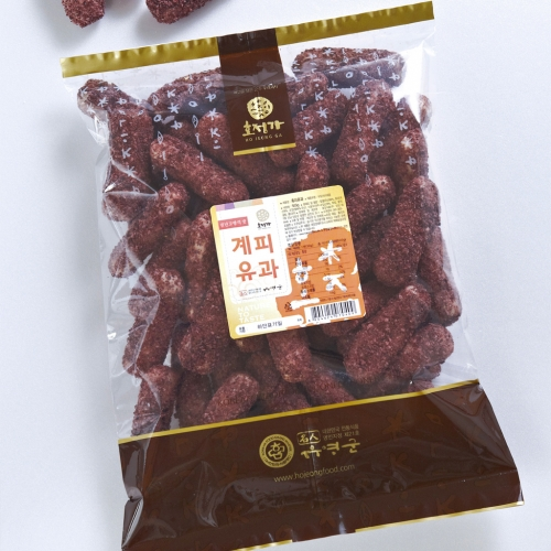 [Hojeongga] Hojeongga Cinnamon Yugwa (Deep-fried Sweet Rice Cake) (500g)
