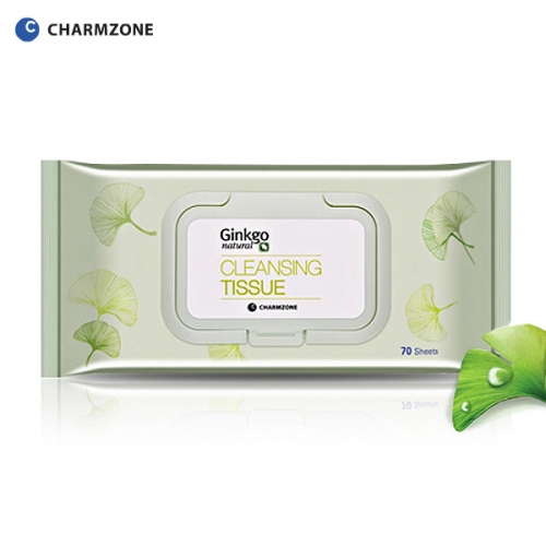 [Charmzone]Ginkgo Natural Cleansing Tissue (70sheets)