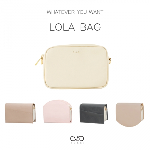 [CLADI] Lola bag : Cover Replaceable Women's Bag (cover separately purchased)