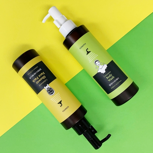 [GOWITH] Calamansi / Shower Face Pack + Body Wash SET