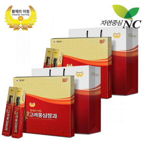 [Imperial Morning] 6-years honeyed korea red ginseng 30g 6EA 2sets & two piece of shopping bags