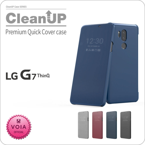 [VOIA] Premiun Quick cover flip case ( Rasberry rose color only possible )