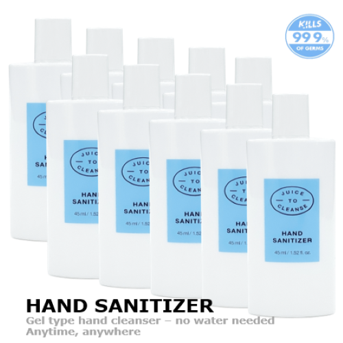 [Juice to Cleanse] Hand Sanitizer (45mlx10ea)