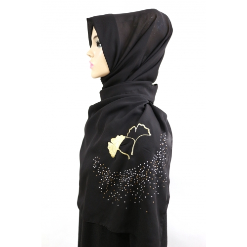 [THE TWELVE] TH211-A Stylishly Designed Hijab Series