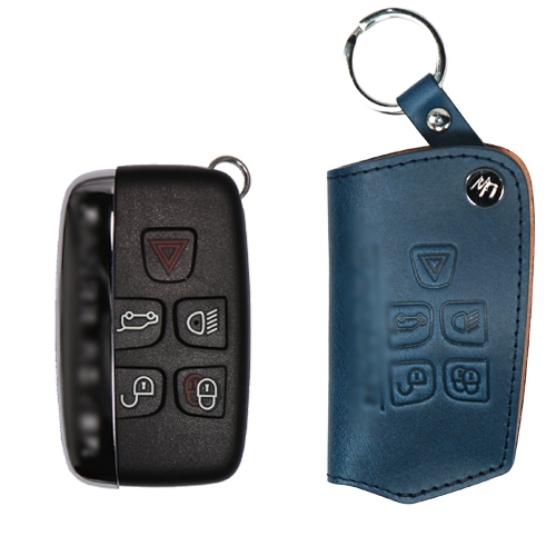 [URBANWEST] Italy BUTTERO 100% Cow Leather Handmade Car Key Case for JAGUAR
