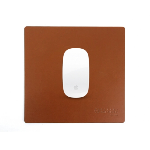 [BEFINE] Leather Mouse Pad 2 (Medium Brown)