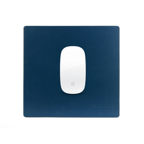 [BEFINE] Leather Mouse Pad 2 (Navy)