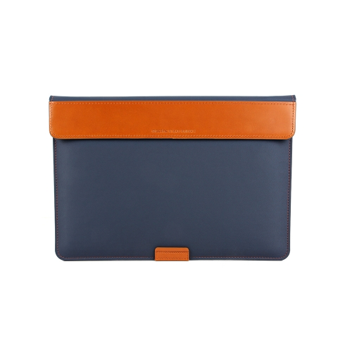 """[BEFINE] Stand Pouch 2 for MacBook Air 13"""" & Pro Retina Display 13"""" & Surface Laptop (Navy Blue)"""