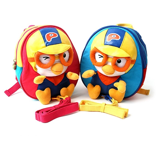 [Pororo] Safety Harness Backpack to Prevent from Going Missing for Toddler Kids