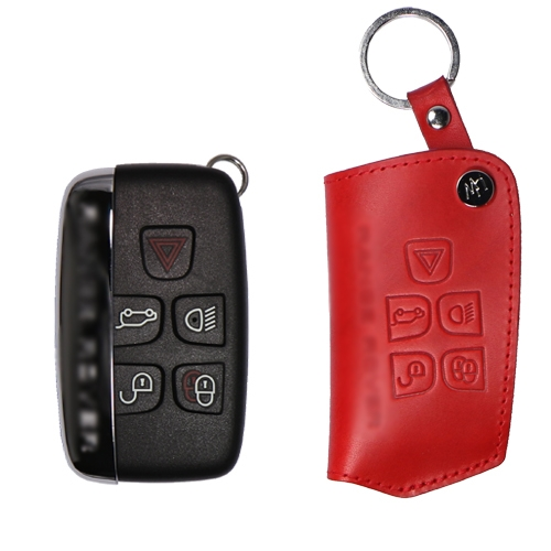 [URBANWEST] Italy BUTTERO 100% Cow Leather Handmade Car Key Case for RANGE ROVER