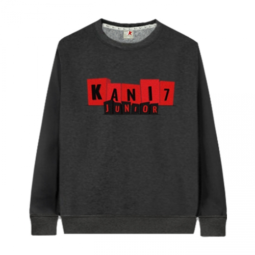 [KaniSeven Junior] raodin boys / Girls Winter Brushed man-to-man T-Shirts