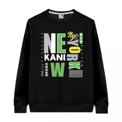 [KaniSeven Junior] saytion boys / Girls Winter Brushed man-to-man T-Shirts