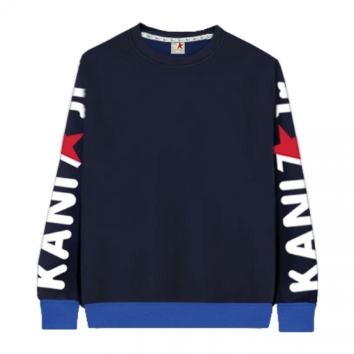 [KaniSeven Junior] sebiji boys / Girls Winter Brushed man-to-man T-Shirts