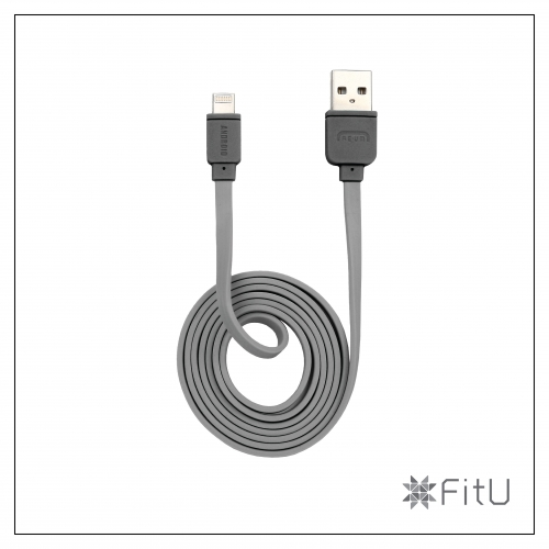 [REUM] FitU 5PIN/8PIN Multi charging cable Silicon 1M