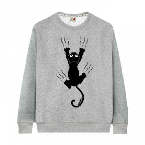 [KaniSeven Junior] sterncat boys / Girls Winter Brushed T-Shirts