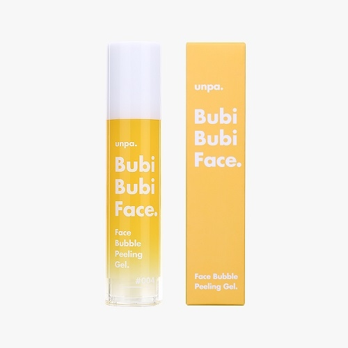 [unpa.Cosmetics] Bubi Bubi Face : soft bubble face scrub (50ml)