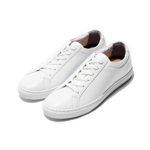 [CO_N_CREAT] Basic Leather Sneakers White