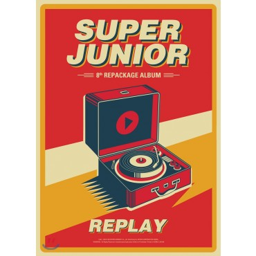 [Super Junior] Album Vol.8 Repackage - REPLAY