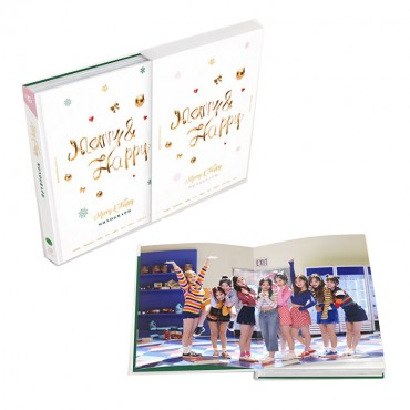 [Photobook&DVD] [TWICE] Merry & Happy MONOGRAPH (Limited Edition)