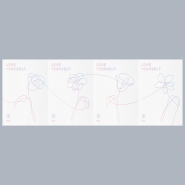 [SET] [BTS] - Mini Album Vol.5 [LOVE YOURSELF 承 Her] (L ver. + O ver. + V ver + E ver.)