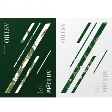 [ASTRO] Album Vol.1 - All Light (GREEN / WHITE ver. - Random)