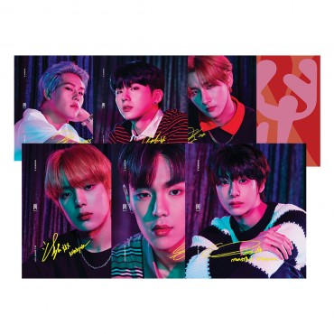 [MONSTA X] - ALL ABOUT LUV - Standard Casemade Book (Random Members) (Income edition)